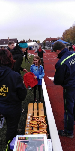 Závod jednotlivců na 60 a 100m Lanškroun 19.10.